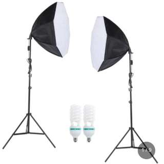 Photography photo light kit set