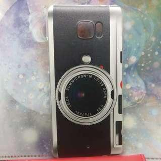 90%新 HTC U Ultra手機硬殼 懷舊leica相機款