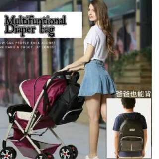 [READYSTOCK!!] MULTIFUNCTION DIAPERS BAG