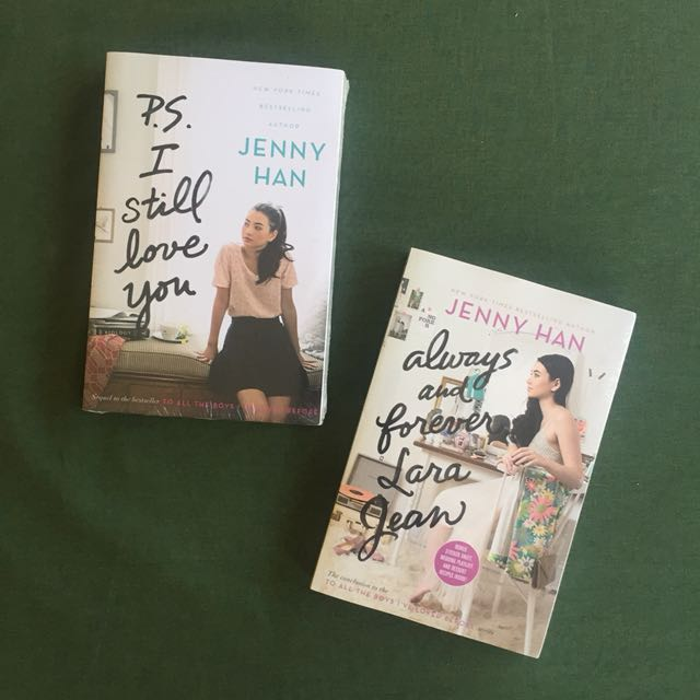 2 BRAND NEW books by Jenny Han
