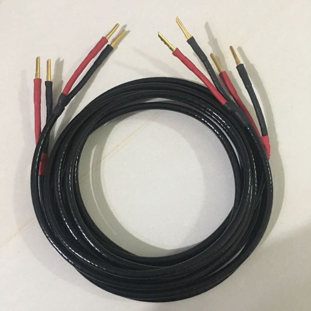 3m Straight Wire Speaker Cable, Electronics, Others on Carousell