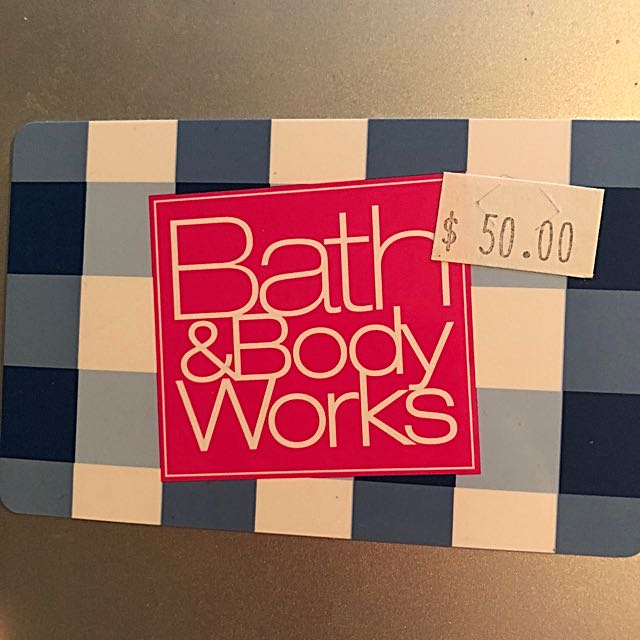 50$ BATH & BODY WORKS GIFTCARD