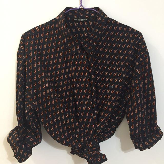 日本古著長袖襯衫