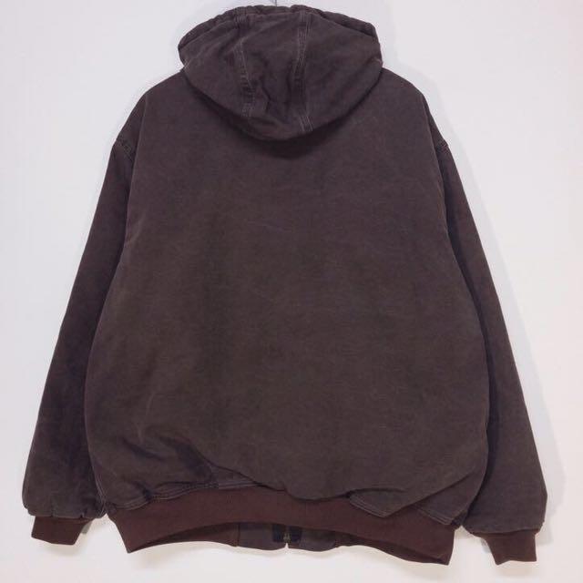 貝里斯製🇧🇿Dickies褐色鋪棉連帽外套