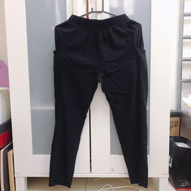 黑色老爺褲