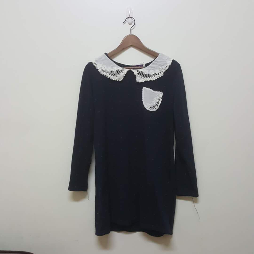 棉質藍色裙子#新春八折