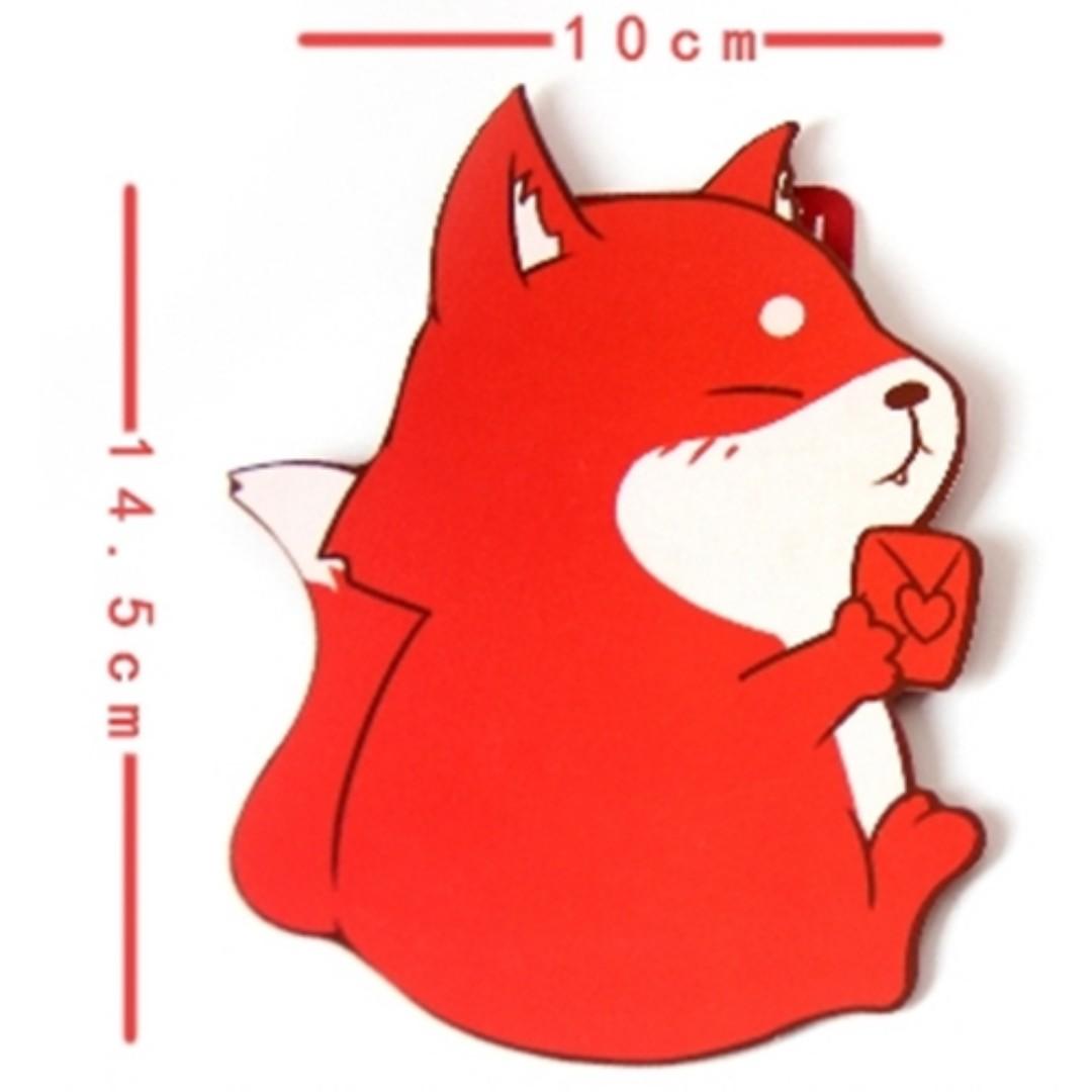 狐狸可愛趣味兒童過新年紅包袋 5入組 W131