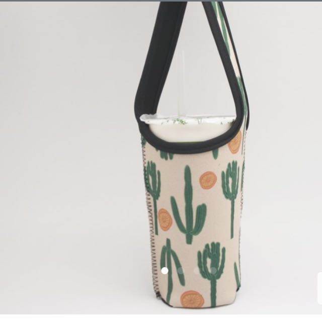 🌳植物系列 環保杯套(保溫保冰)全新