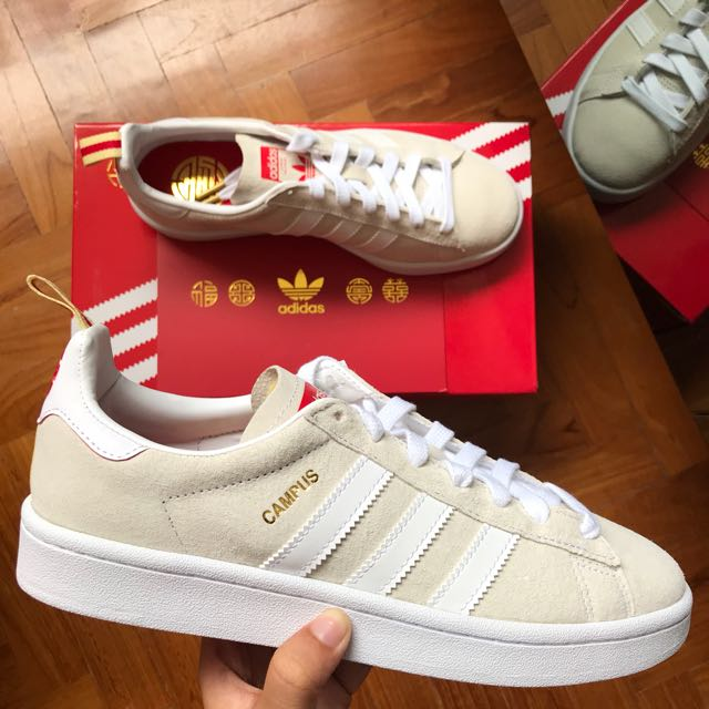 new product a40aa 2aa5c Adidas Campus Chinese New Year (CNY) Shoe, Mens Fashion, Foo