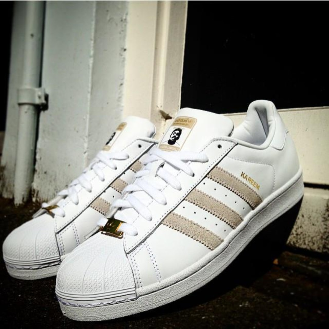 Adidas Skateboarding Superstar RT Kareem Campbell - FTW White, Men's Fashion, Footwear, Sneakers on Carousell