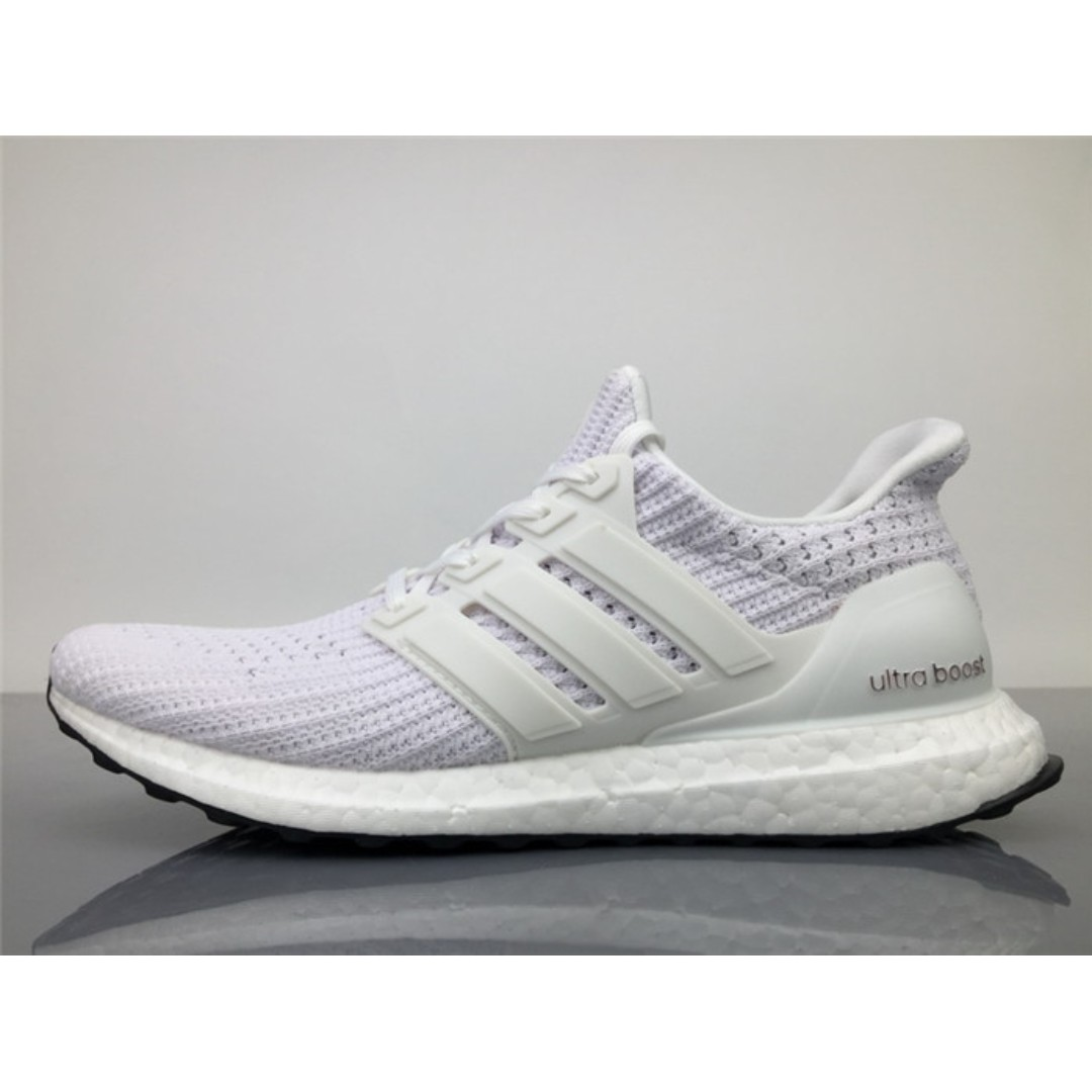 917288053 Adidas Ultra Boost Continental Torsion System Women Running Shoes (White)