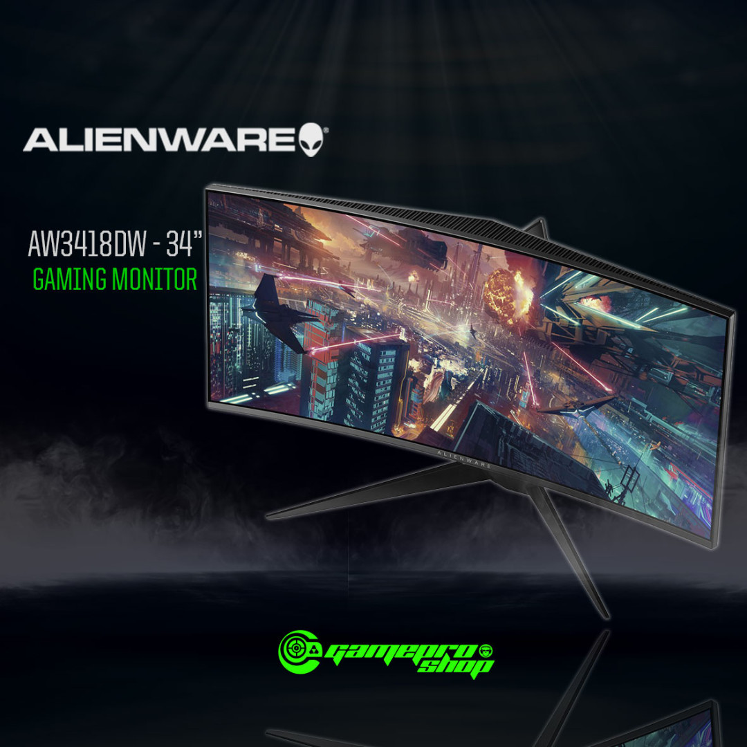 ALIENWARE AW3418DW 34″ G-SYNC Curved Gaming Monitor