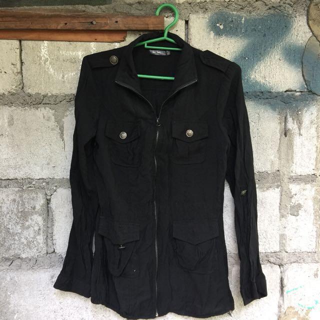 Army-like jacket