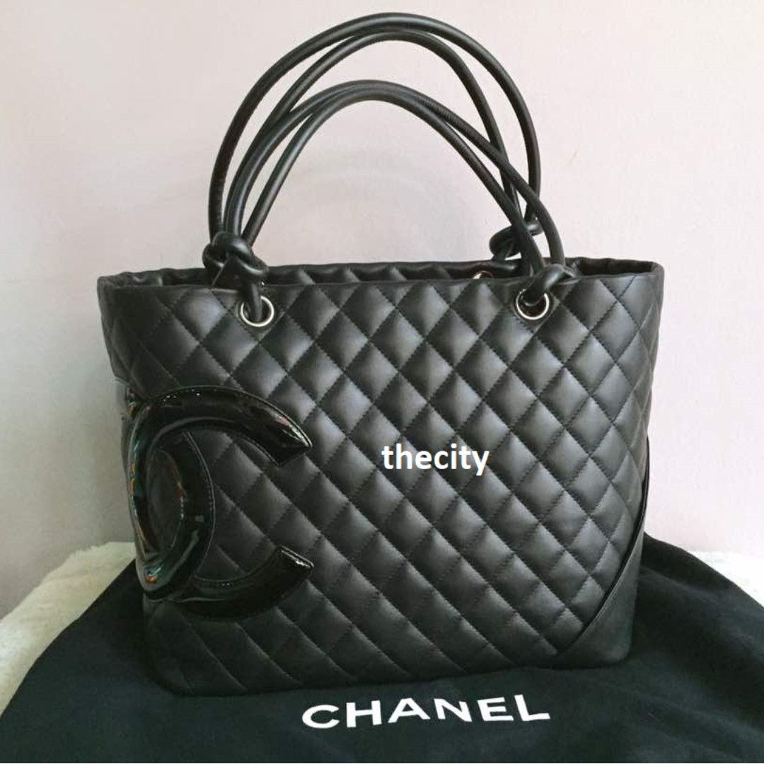 b943c3b399da AUTHENTIC CHANEL CAMBON LARGE TOTE - NEVER BEEN USED !, Luxury, Bags ...