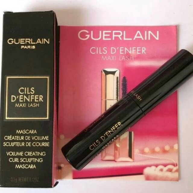 Authentic travel size guerlain mascara