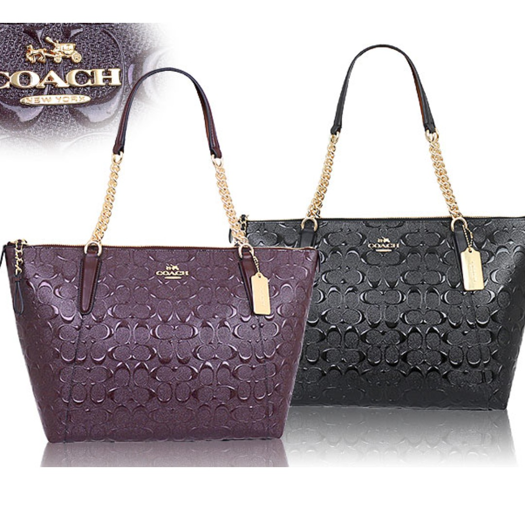 world-wide free shipping exclusive deals outlet sale AVA CHAIN TOTE (COACH F22260)