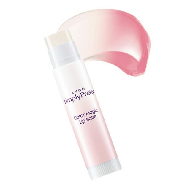 Avon Simply Pretty Color Magic Lip Balm