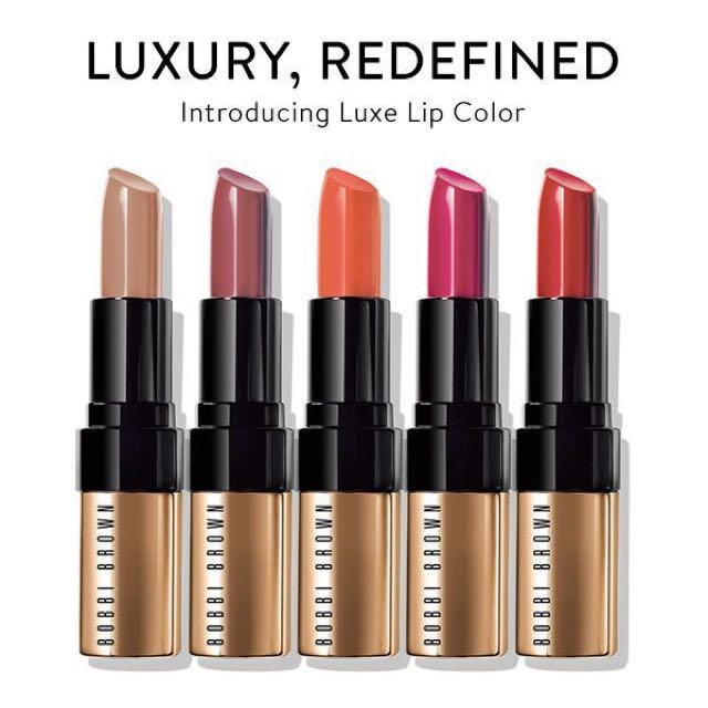 BOBBI BROWN 芭比波朗 金緻奢華唇膏 Luxe Lip Color