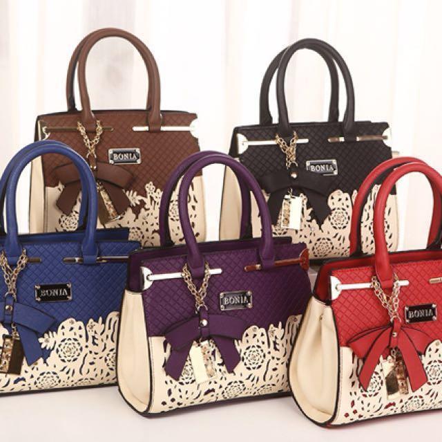 Bonia Handbag New Arrival Women S Fashion Bags Wallets On Carou