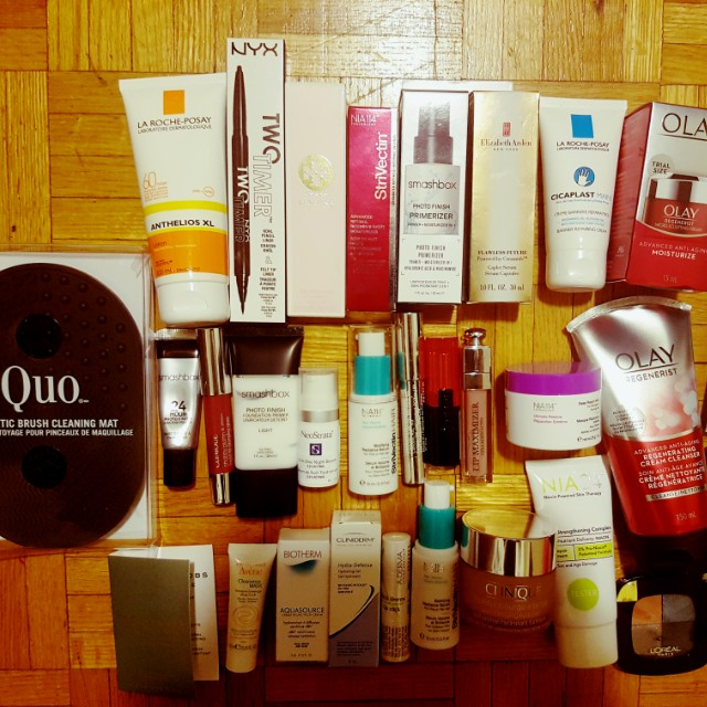 Brand new skin care and makeup