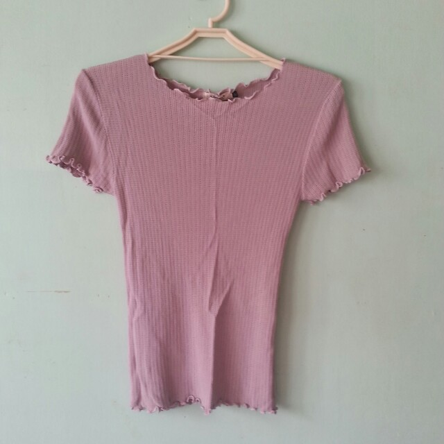 Brandy Melville / Forever 21 Inspired Lilac Top