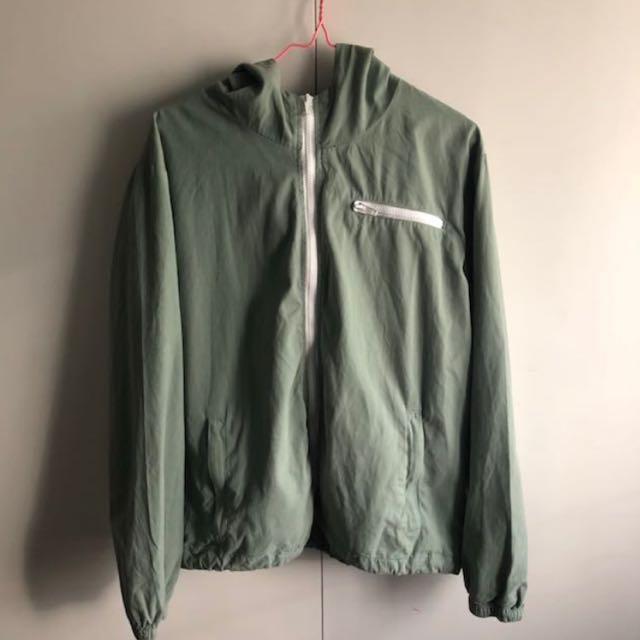 Brandy Melville Green Krissy Jacket