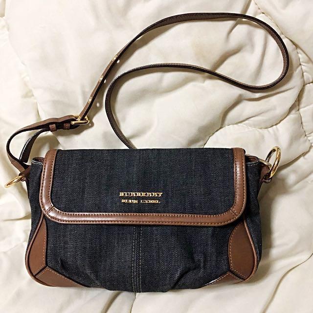 9778598d6d Burberry Blue Label Denim Sling   Crossbody Bag on Carousell