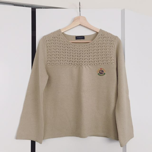 Burberry Knit Sweater