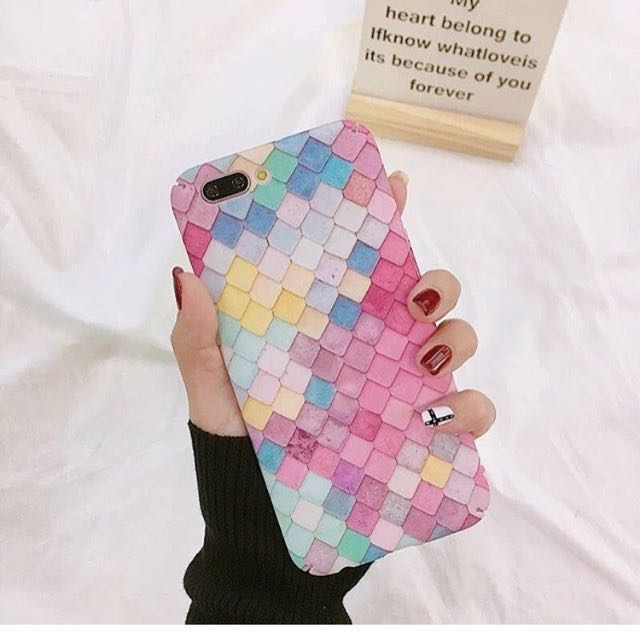 Case mermaid iphone 7
