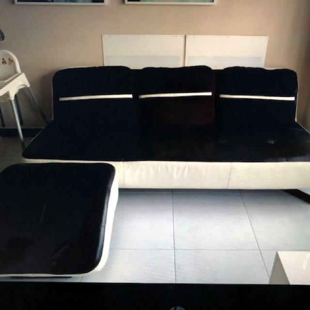 Cellini Full Leather Sofa And Single Sofa With Leg Rest Furniture