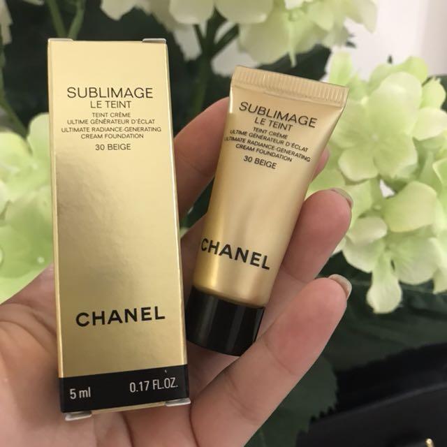 Chanel cream foundation 30 beige