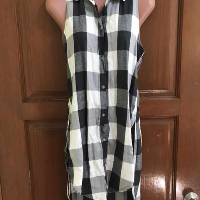 Checkered Blouse/Dress