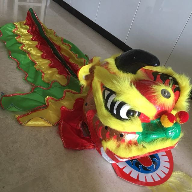 ec47158f3 Chinese New Year Lion Dance Head For Kids