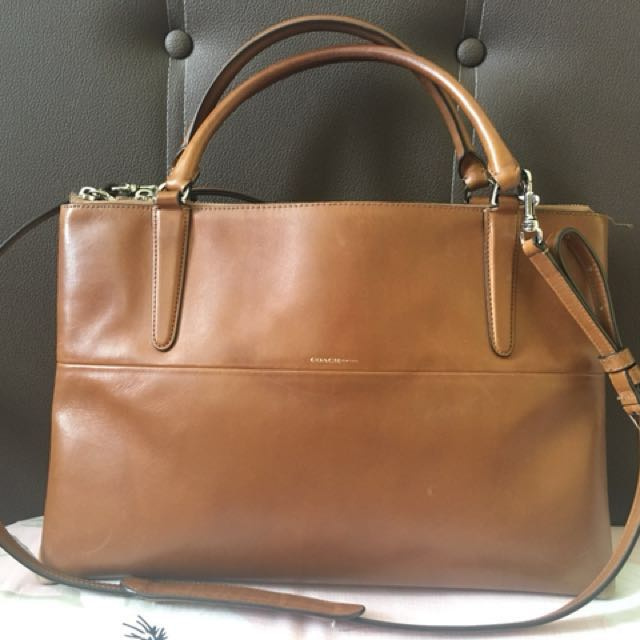 Coach Brough Leather Large