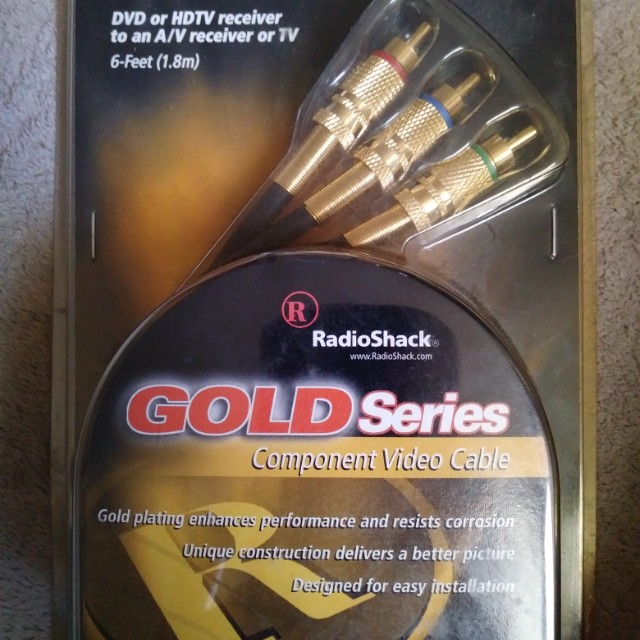 Component video cable (new)