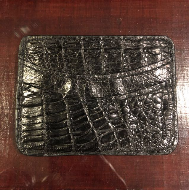 Crocodile Leather Cardcase