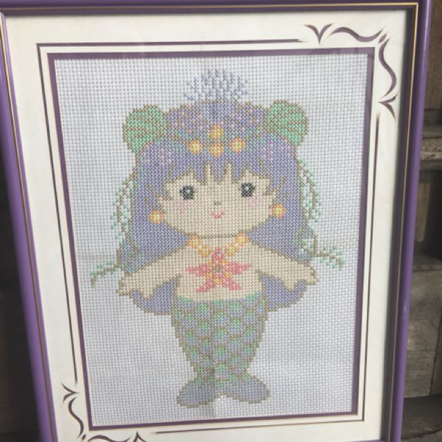 Cross stitch - Little Mernaid