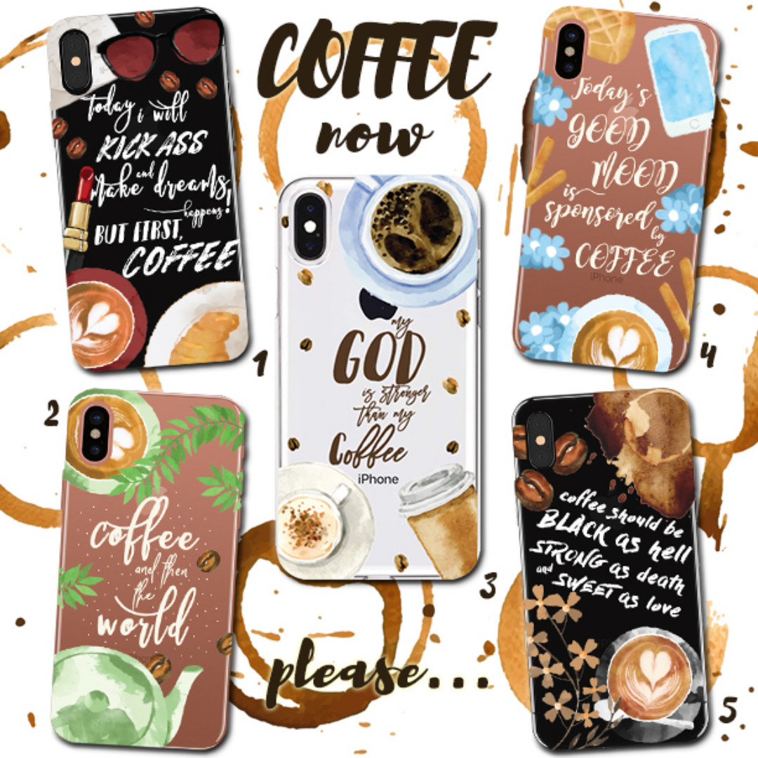 new styles 6f54f 144a3 Custom Case Casing HP - Coffee Now, Mobile Phones & Tablets, Mobile ...