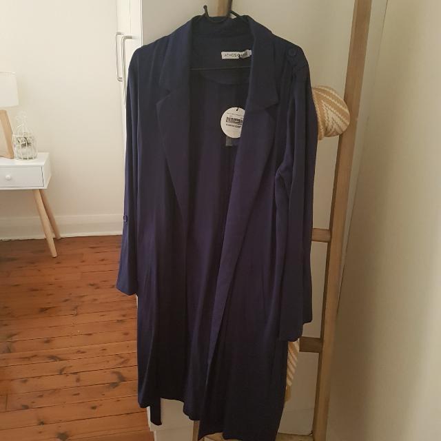 Dark Blue Purple Coat/cardigan