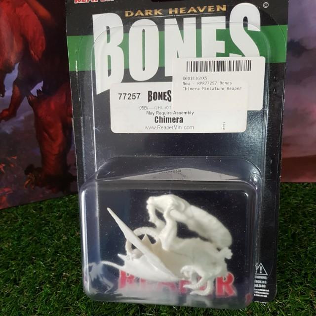 Dark Heaven Bones Reaper Minatures Chimera (Fantasy D&D Pathfinder RPG)