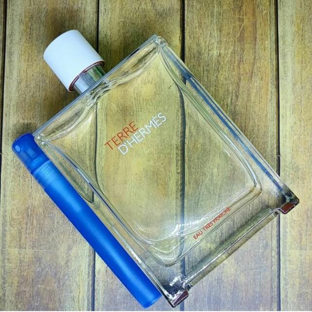 Decant Parfum Terre D'Hermes Eau Tres Fraiche