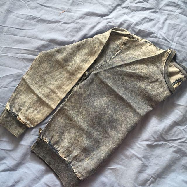 Denim long sleeves