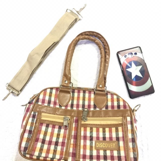 discover mini handbag