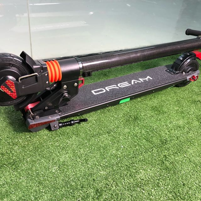 DREAM S5 Dual Motor 36V Carbon Fiber Electric Scooter