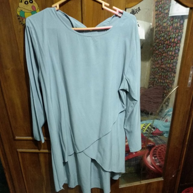 Dress tangan panjang