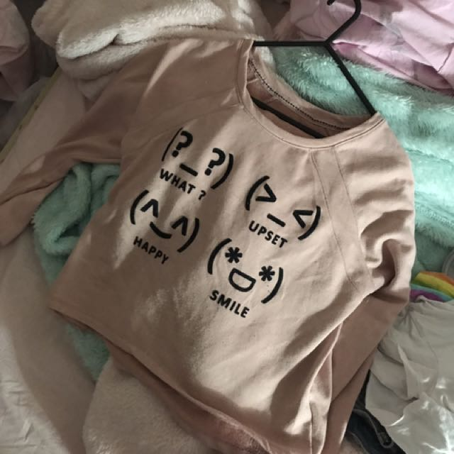Emoticon jumper