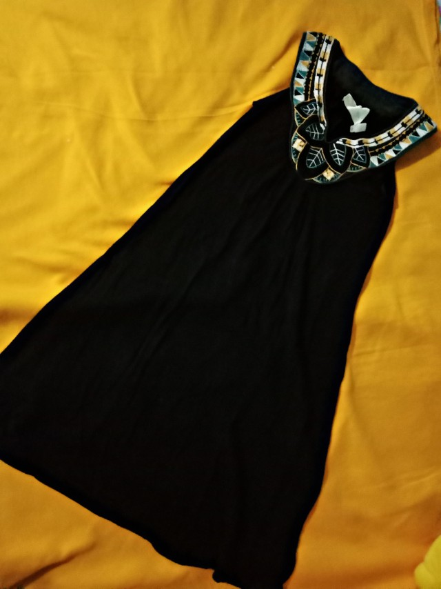 Ethnic Black Dress