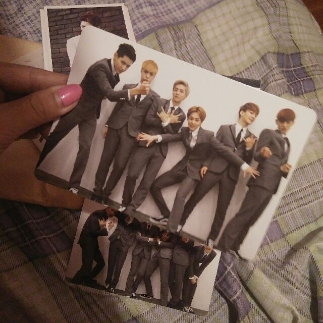 Exo M Official Growl Photocard