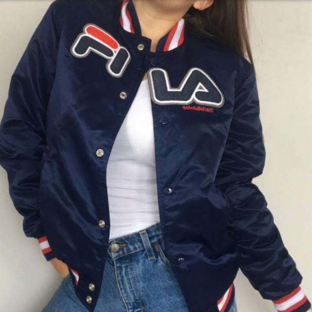 Fila gorgeous jacket, silky type