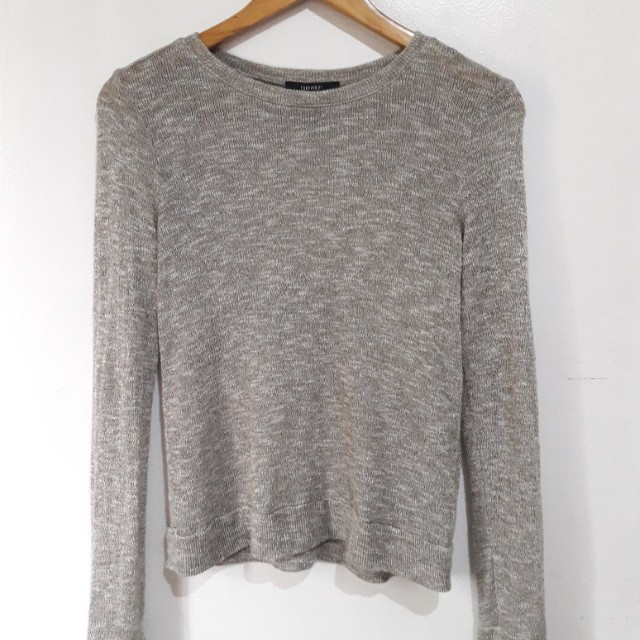 Forever21 Heathered Knit Sweater